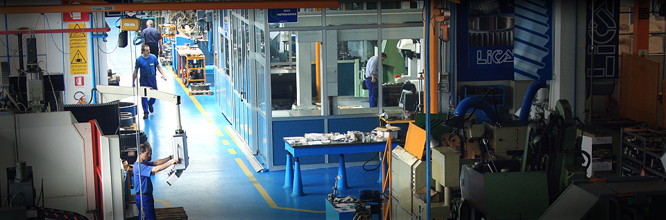 Licat Ingranaggi Gear Systems stabilimento officina