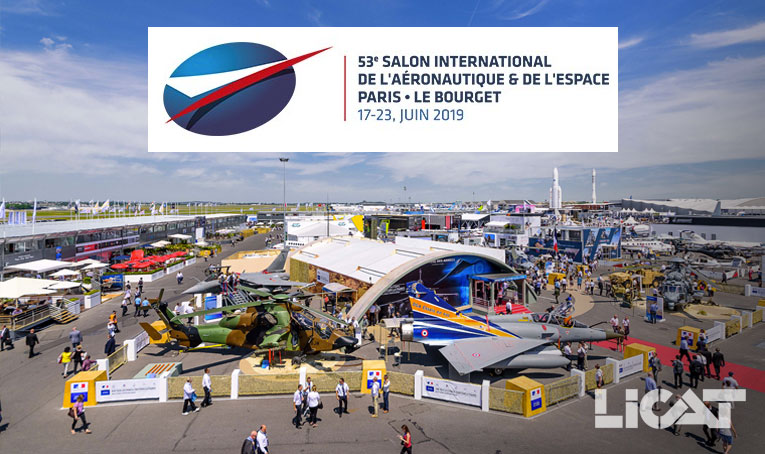Paris Air Show 2019 Licat
