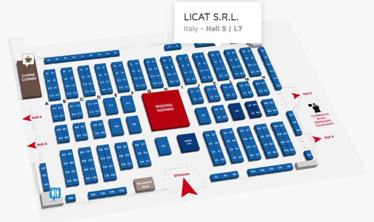 Aeromart Toulouse 2018 stand licat Hall 5