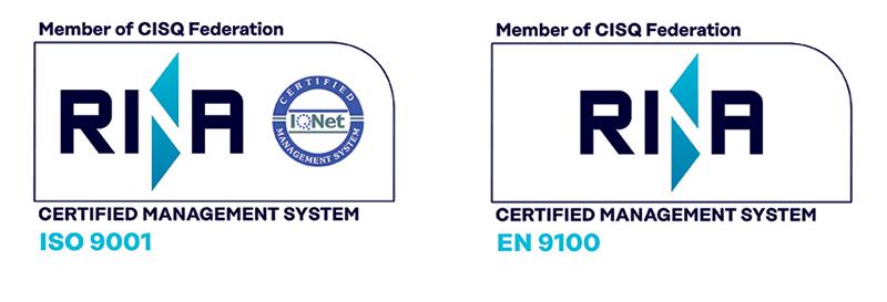 Certificazioni Qualità RINA Licat srl Aerospaziale