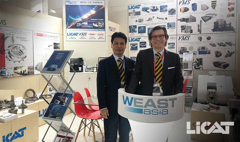 CIMT 2019 Licat Getriebe Weast Asia