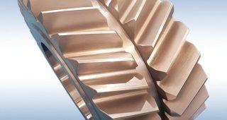 herringbone double-helix gear