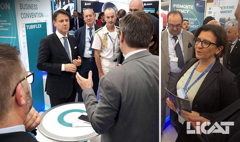 Salon International Aéronautique Paris Air Show 2019 Ministre Défense Elisabetta Trenta